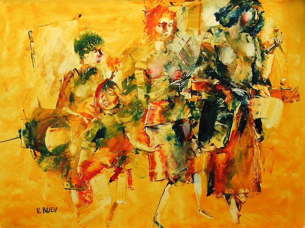Marketplace 3 by Valeriu Buev