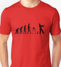 Evolution Zombie Unisex T-Shirt