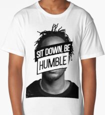 Kendrick Lamar- Sit Down, Be Humble Long T-Shirt