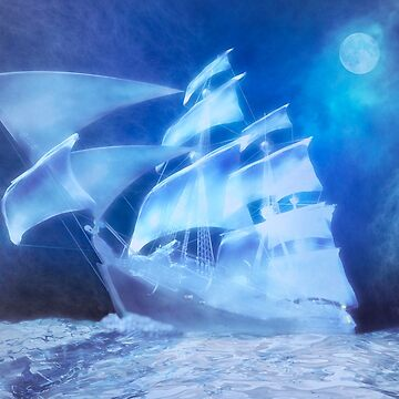 The Flying Dutchman . . . a ghost ship by fotokatt