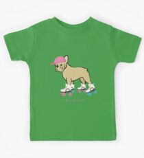 Frenchie Roller by Frenchie Love Kids Tee