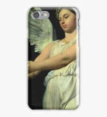 Jean - Auguste - Dominique Ingres - Study Of Victory For The Apotheosis Of Homer iPhone Case/Skin