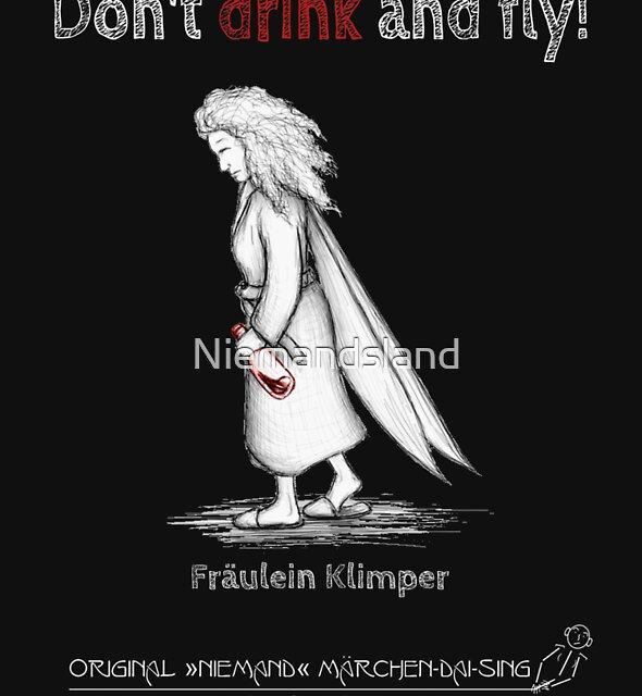 Fräulein Klimper - Don't drink and fly! von Niemandsland