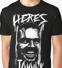 here's johnny Graphic T-Shirt