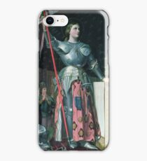Jean - Auguste - Dominique Ingres - Joan Of Arc  iPhone Case/Skin
