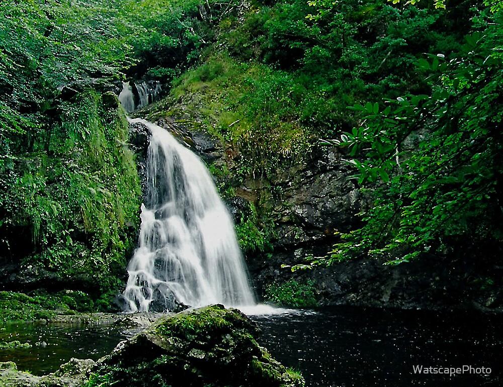 Waterfall near Tuar Mhic Eadaigh by WatscapePhoto