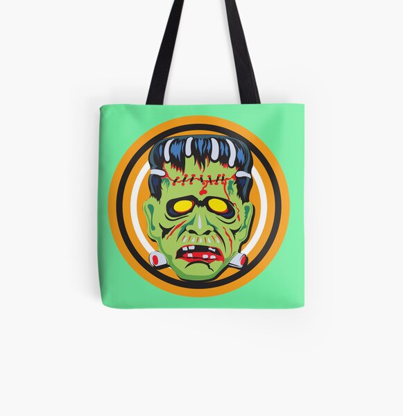 Frankie Mask All Over Print Tote Bag