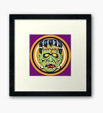 Frankie Mask Framed Print