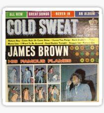 James Brown, Famous Flames, Cold Sweat, Funk, Soul, lp Sticker