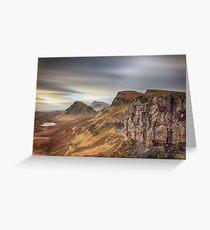 Quiraing - Isle of Skye Greeting Card