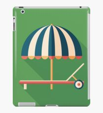 Parasol and Sunbed iPad Case/Skin