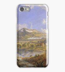 Jasper Francis Cropsey - Starrucca Viaduct, Pennsylvania iPhone Case/Skin