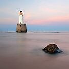 Sunset at Rattray Head Lighthouse by Grant Glendinning