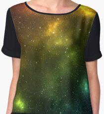 Rainbow Galaxy Chiffon Top