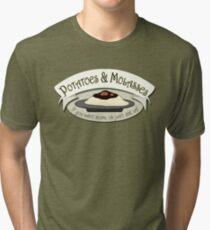 Potatoes and Molasses Tri-blend T-Shirt