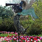 Angel In The Tulip Garden by Cynthia48