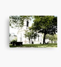 St Philip's Cathedral, Birmingham Canvas Print