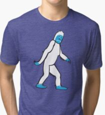 The Abominable Yeti Tri-blend T-Shirt