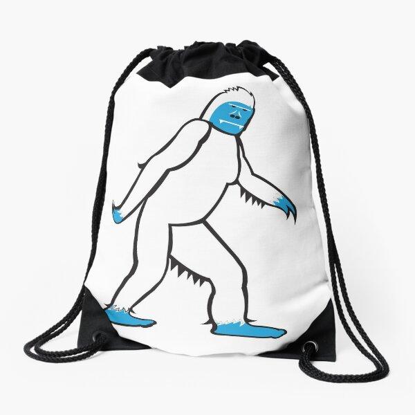 The Abominable Yeti Drawstring Bag