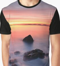 Coastal Sunset Kintyre Graphic T-Shirt