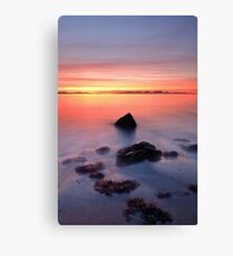 Coastal Sunset Kintyre Canvas Print