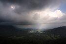 Nu'uanu Pali Lookout by Alex Preiss