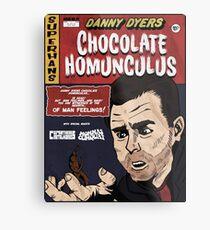 Danny Dyers Chocolate Homunculus Metal Print