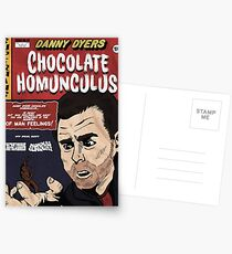 Danny Dyers Chocolate Homunculus Postcards