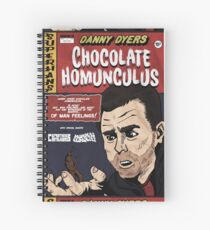 Danny Dyers Chocolate Homunculus Spiral Notebook