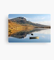 Storr reflection Canvas Print