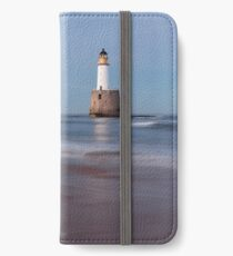 Rattray Head Lighthouse Evening iPhone Wallet/Case/Skin