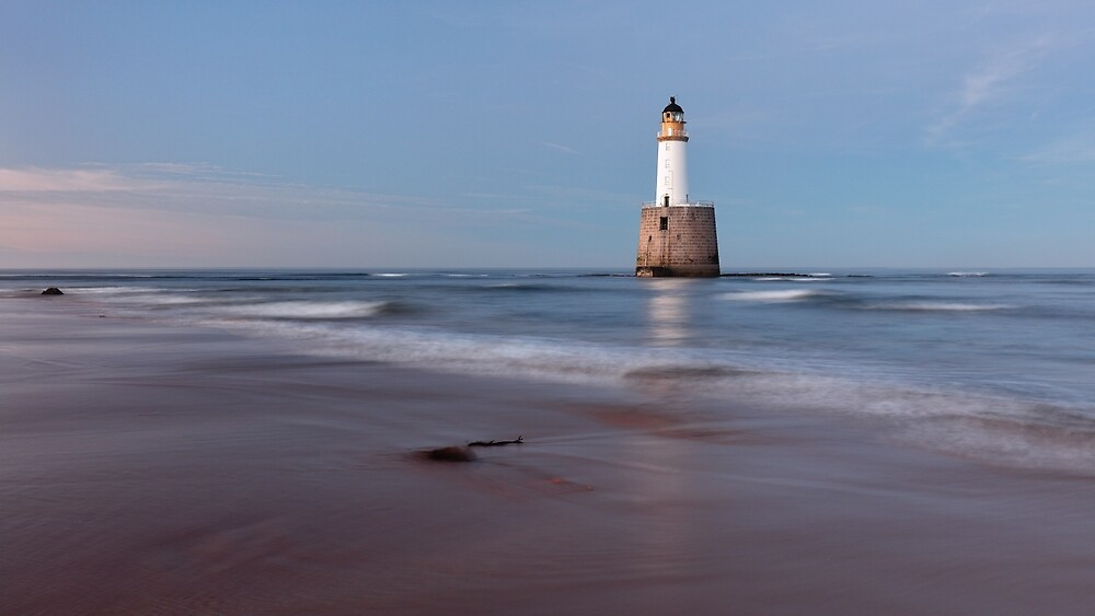 Rattray Head Lighthouse Evening by Grant Glendinning