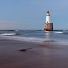 Rattray Head Lighthouse Evening by Grant Glendinning