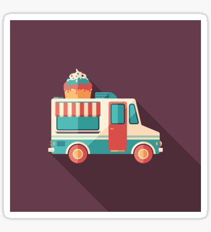 Ice Cream Van Sticker