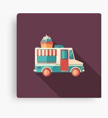 Ice Cream Van Canvas Print