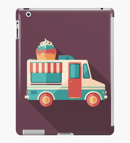 Ice Cream Van iPad Case/Skin