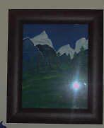 Mountain Range by Janet  Stead