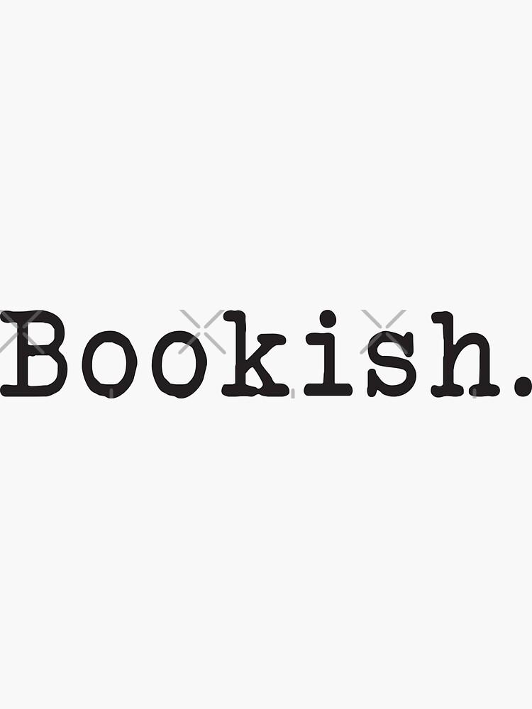 Bookish - Book Lover - Bookstagram - Bookworm - Typewriter by yairalynn