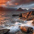 Elgol Stormy Sunset by Grant Glendinning