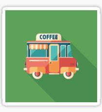 Coffee Van Sticker
