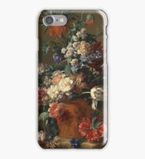 Jan Van Huysum - Vase Of Flowers iPhone Case/Skin