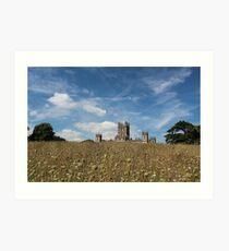 Highclere Castle a.k.a. Downton Abbey Art Print