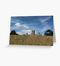 Highclere Castle a.k.a. Downton Abbey Greeting Card
