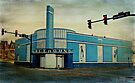 Old Greyhound Bus Station by Sandy Keeton