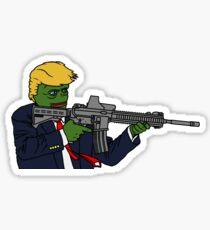 Shoot-em-up Sticker