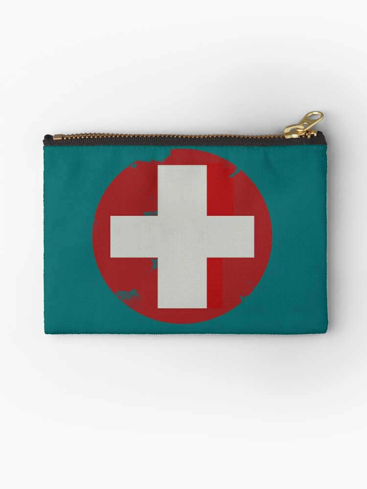 Team Fortress 2 Medic Studio Pouches By Qotaku Redbubble