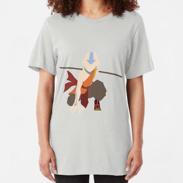 Aang - The Last Airbender  Slim Fit T-Shirt