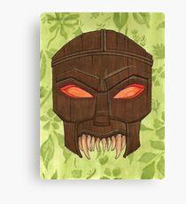 Dead Man's Party - The Ovu Mobani Mask - BtVS Canvas Print