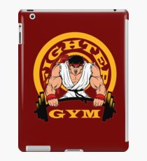 Fighter from streets Gym workout motivation warrior  ryu iPad Case/Skin