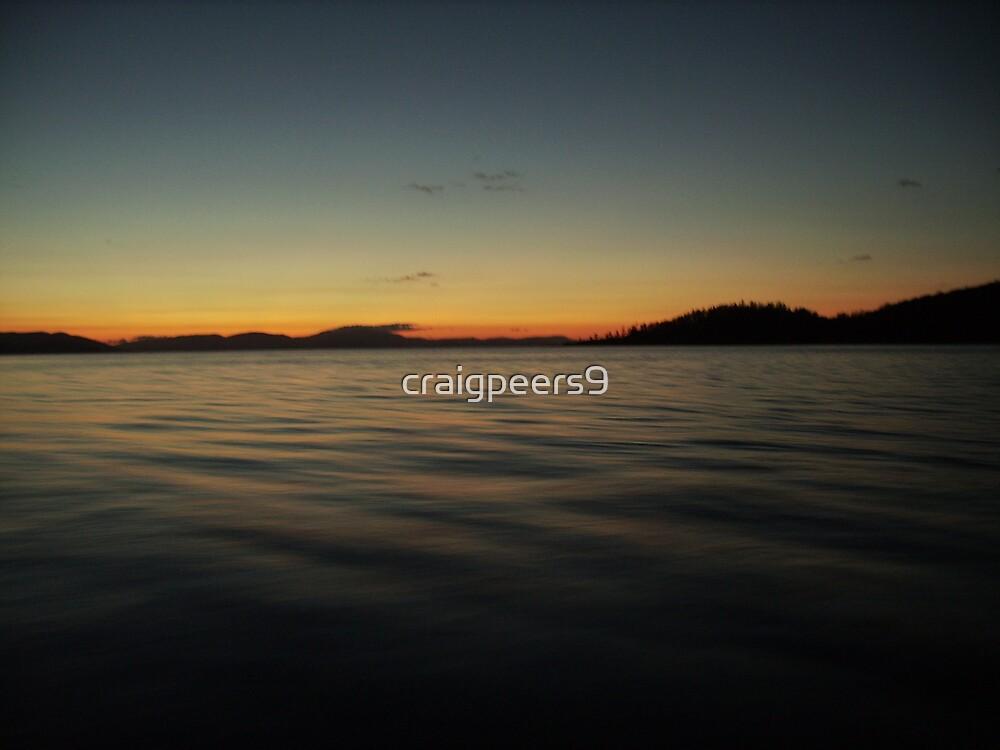 Islands at night by craigpeers9